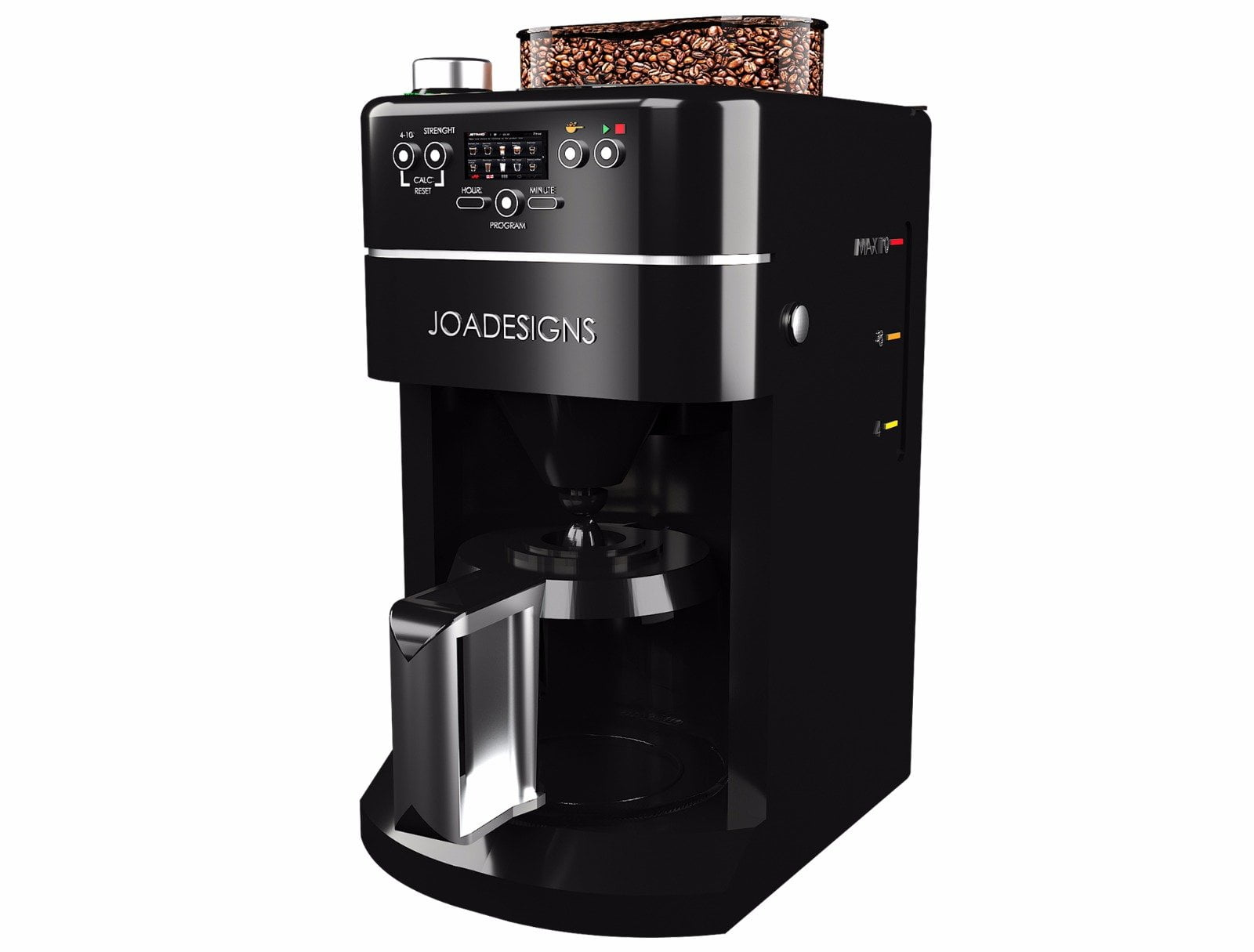 product design 3D Rendering of a drip Coffee machine