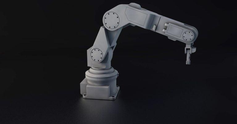 Driveworks robot arm 3D render