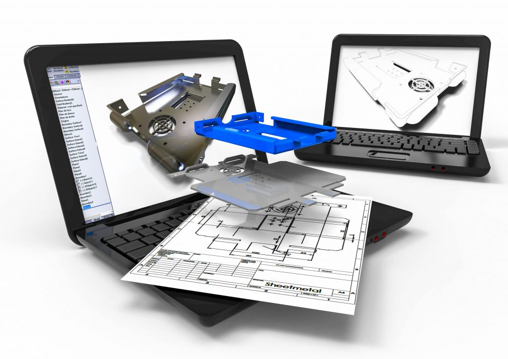 CAD Mechanical design engineering drawing